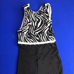 Nastia liukin girls one piece leotard/swimwear